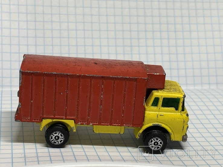 Unboxed Matchbox Lesney No.44 GMC Refrigerator Truck., фото №4