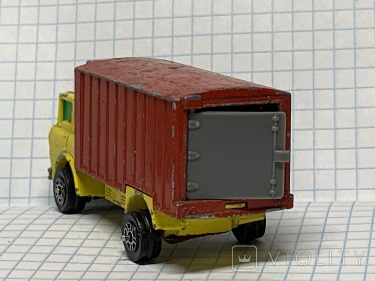 Unboxed Matchbox Lesney No.44 GMC Refrigerator Truck., фото №5