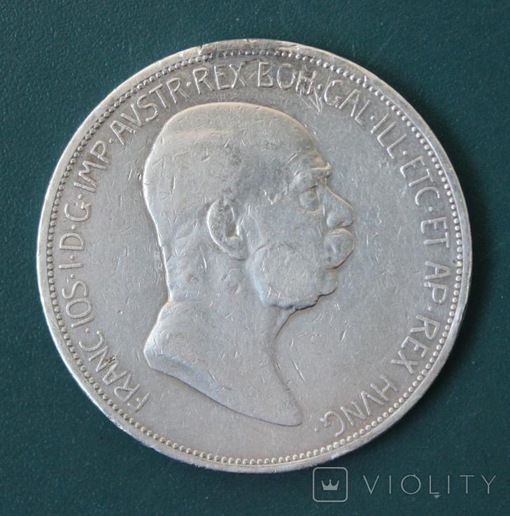 5 крон(корон) 1908, фото №3