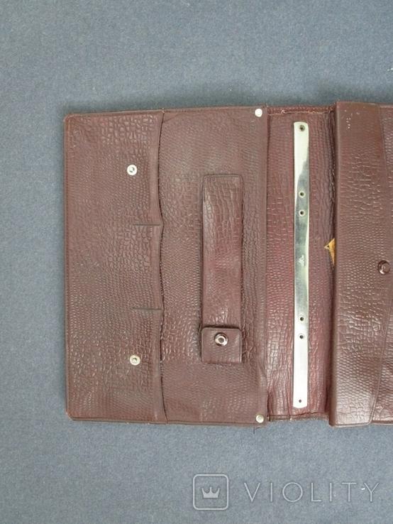 Старенький портфель Мосштамп СССР (с ключом), фото №4
