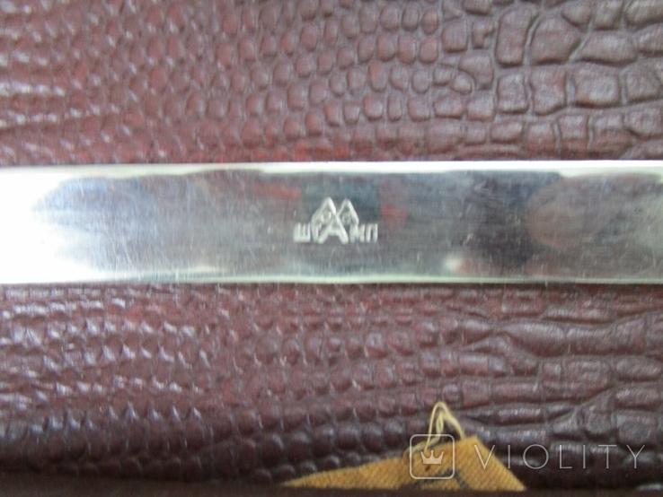 Старенький портфель Мосштамп СССР (с ключом), фото №5