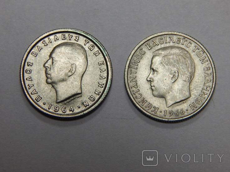 2 монеты по 50 лепта, Греция, фото №3