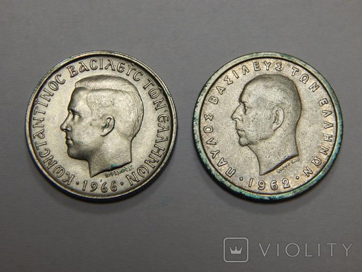 2 монеты по 1 драхме, Греция, фото №3