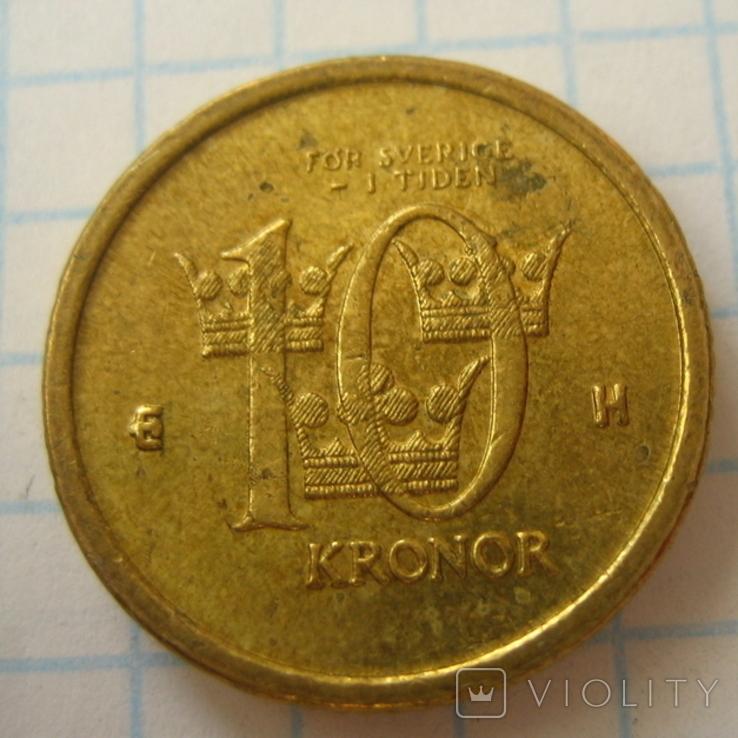 Швеция 10 крон, 2003, фото №5