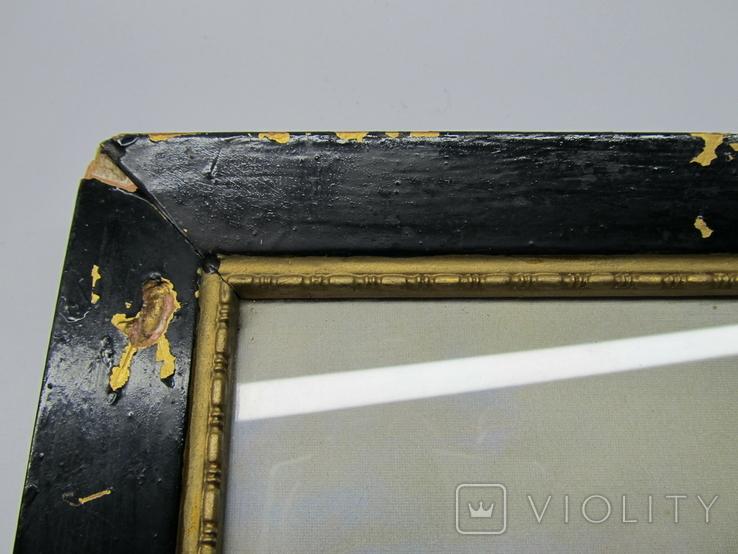 Корабли у берегов Ли. Джеймс Уилсон Кармайкл. Репродукция. 40х29,5 см., фото №7