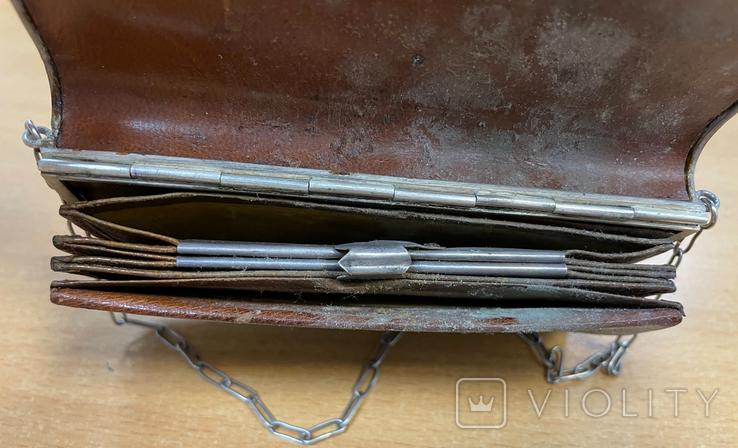 Серебряная сумочка 84 пробы, фото №10