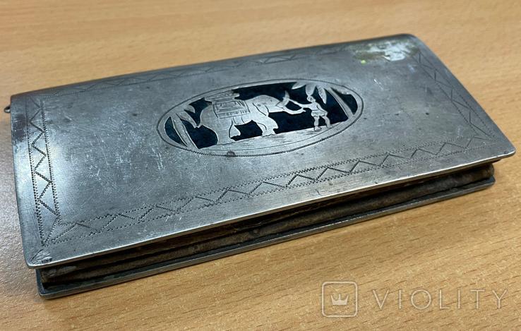 Серебряная театральная сумочка, фото №2