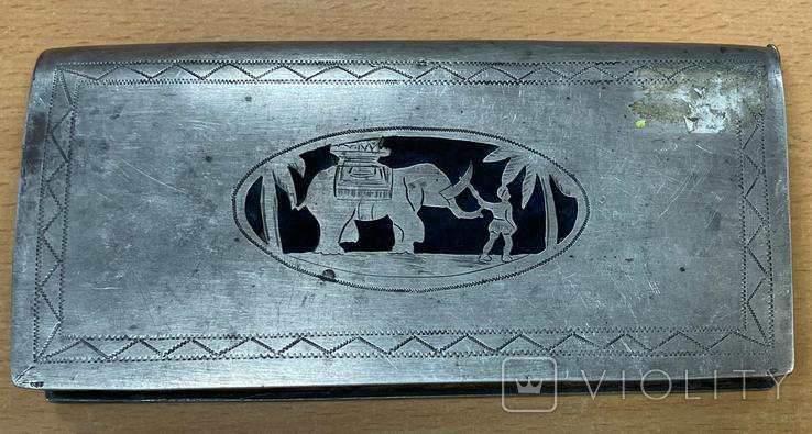 Серебряная театральная сумочка, фото №3