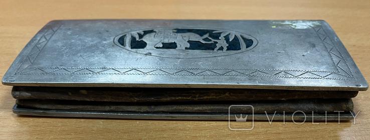 Серебряная театральная сумочка, фото №5