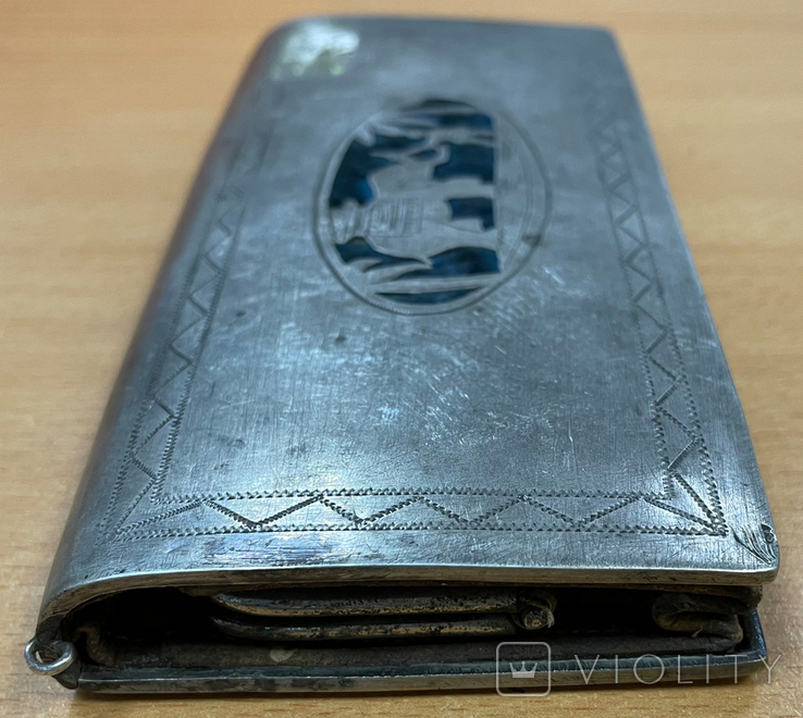 Серебряная театральная сумочка, фото №8