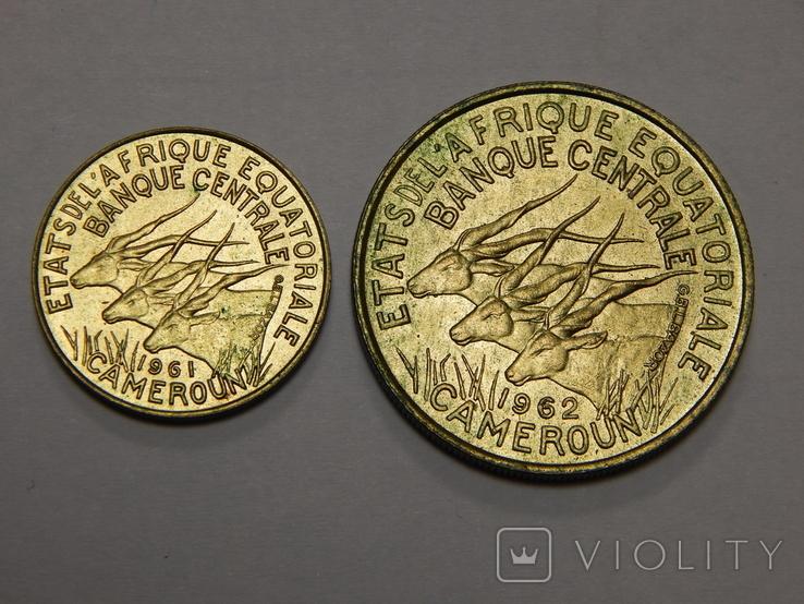 5 и 25 франков, Камерун, фото №3