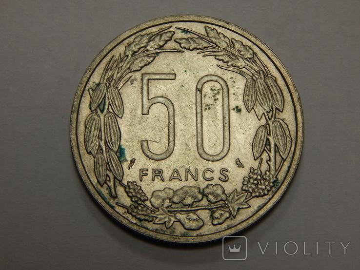 50 франков, 1961 г Центральная Африка, фото №2