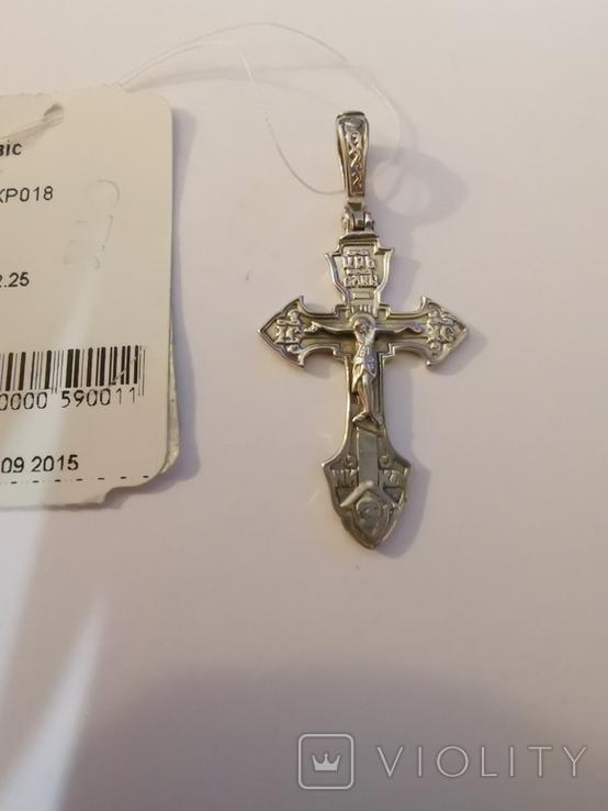 Хрестик срібло (1), фото №3