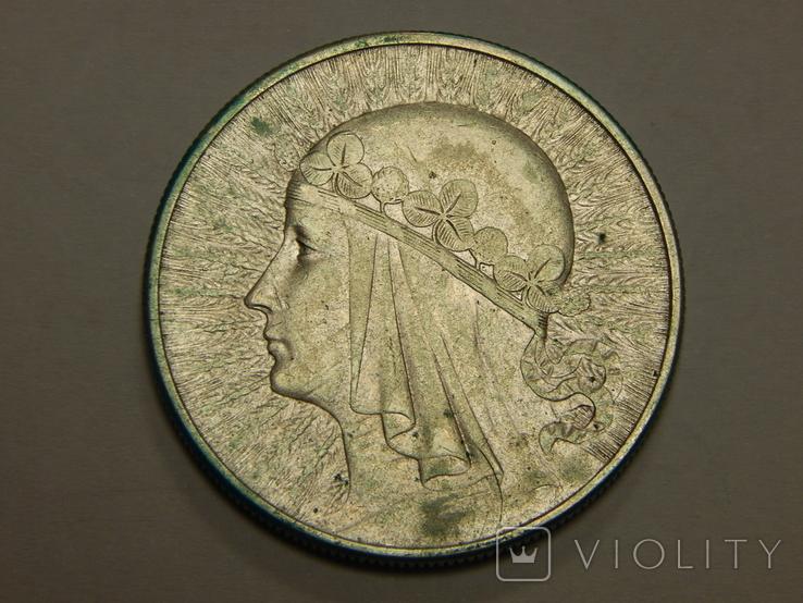 10 злотых, 1932 г Польша, фото №3