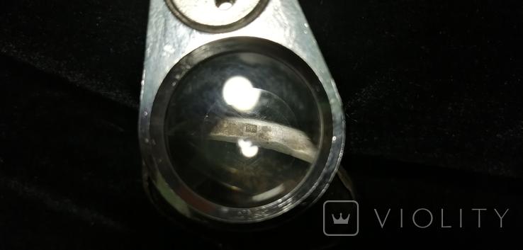 Икона БМ старинная. Металл. Серебро., фото №8