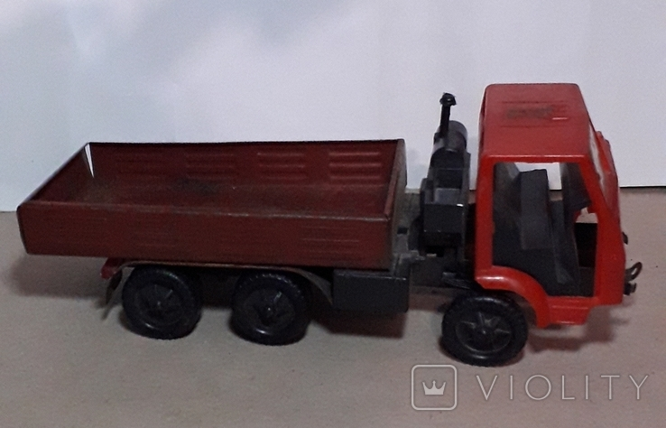 Машинка из СССР КамАЗ длина 24 см, фото №2