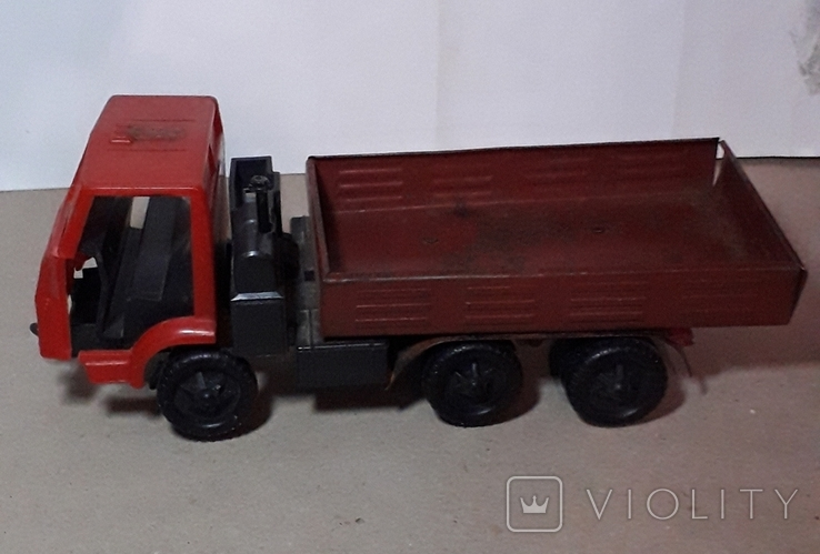 Машинка из СССР КамАЗ длина 24 см, фото №3