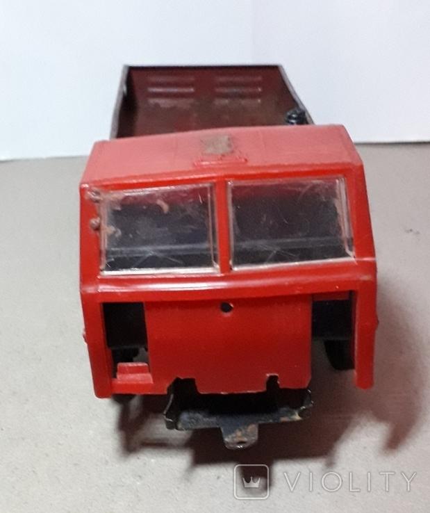 Машинка из СССР КамАЗ длина 24 см, фото №7