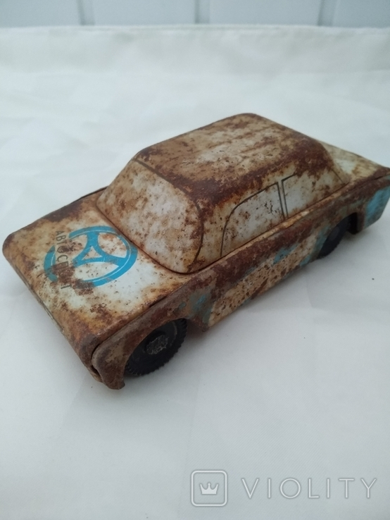 Машинка легковая Автоспорт времён СССР., фото №7