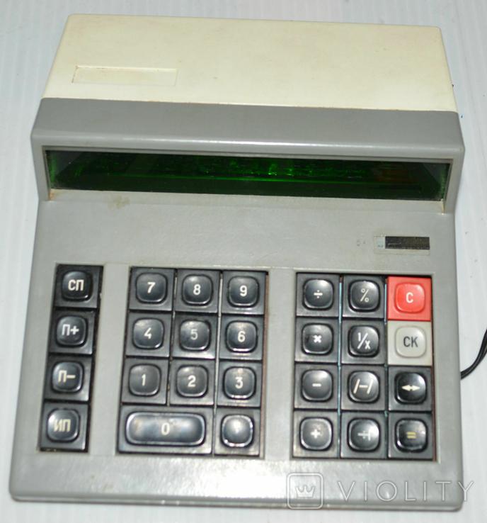 Калькулятор электроника МК 42, фото №2