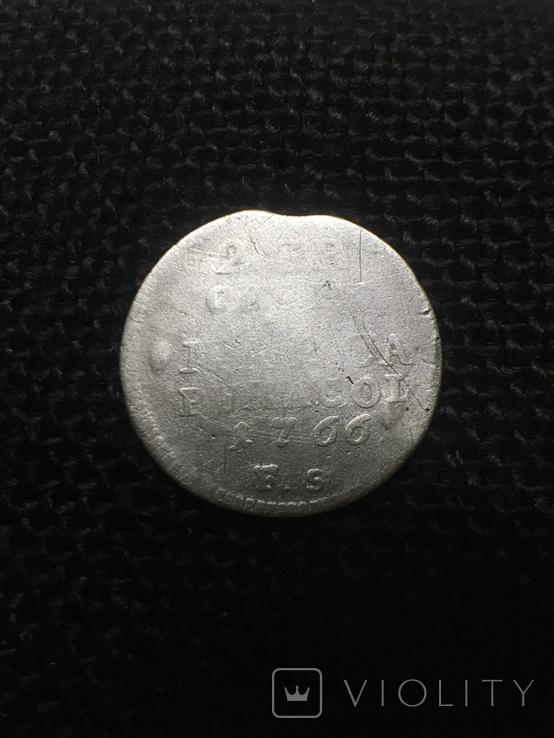 2 гроша 1766 год, фото №2