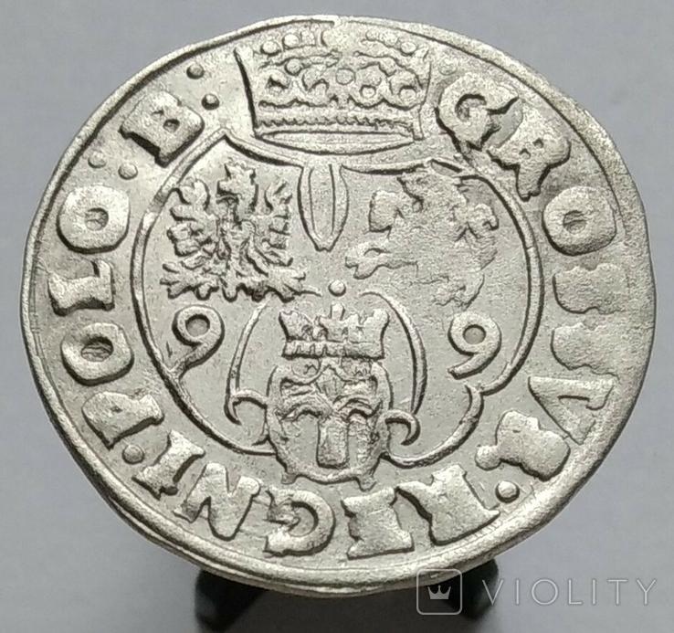 Гріш Коронний 1599 рік (R7), фото №9