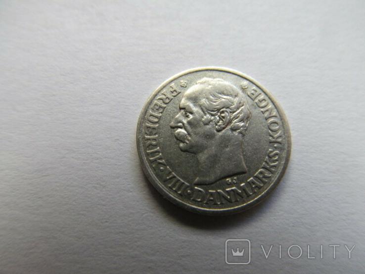 Дания 10 орэ 1910 год, фото №4