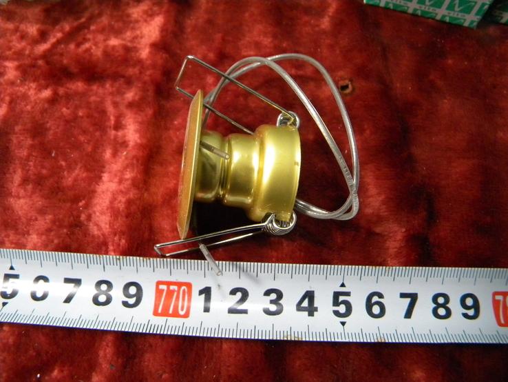 Точечный светильник 20 шт новые-золото, фото №5