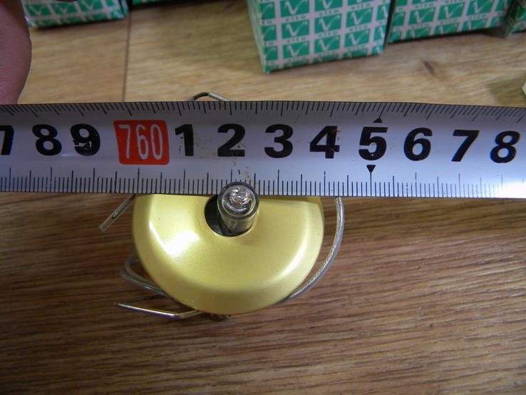 Точечный светильник 20 шт новые-золото, фото №11