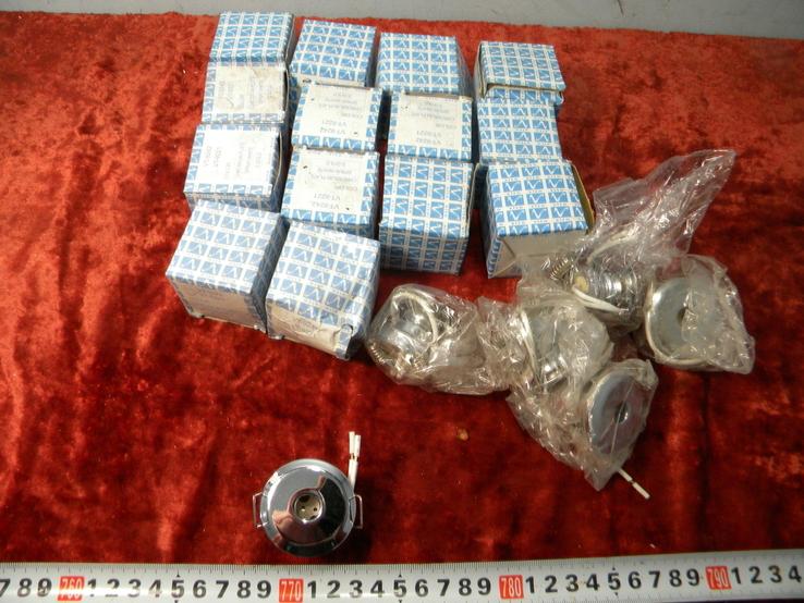 Точечный светильник 20 шт новые-серебро, фото №2