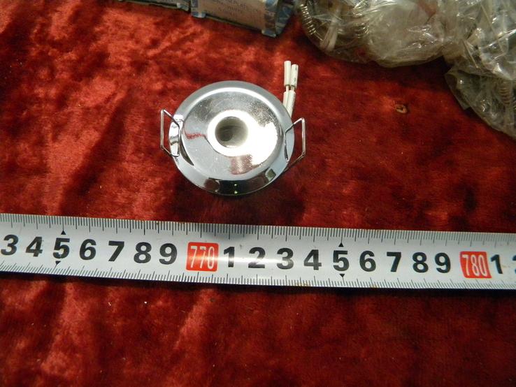Точечный светильник 20 шт новые-серебро, фото №4