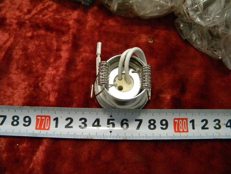 Точечный светильник 20 шт новые-серебро, фото №6