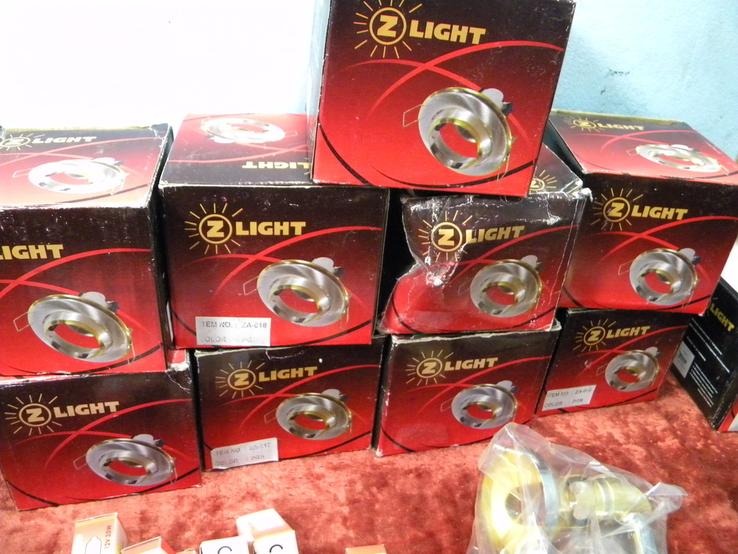 Светильники 10 штук. Новые+10 лампочек., фото №4