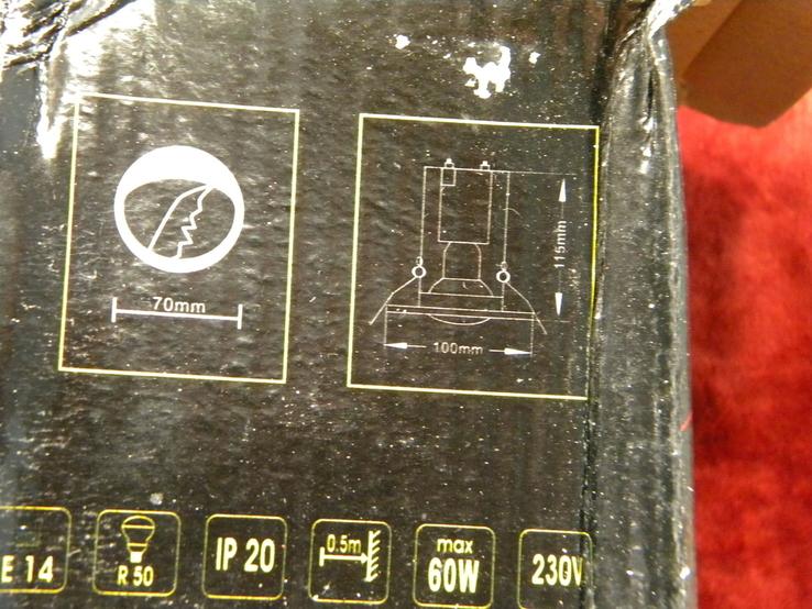 Светильники 10 штук новые.Бурый круг., фото №7