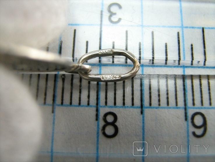 Серебряный Кулон Подвеска Ладанка Святая Нина Равноапостольная Серебро 925 проба 750, фото №5