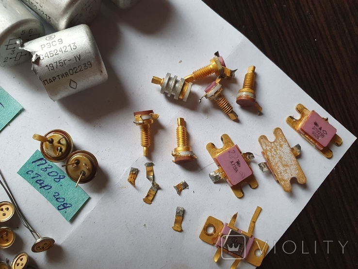 Транзисторы,микросхемы,разъемы,РЭС9,213, позолота, фото №5