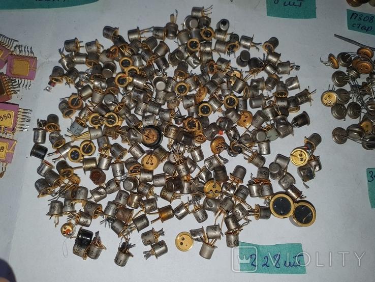 Транзисторы,микросхемы,разъемы,РЭС9,213, позолота, фото №7