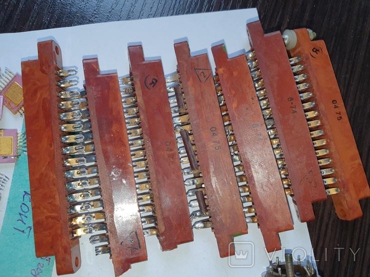 Транзисторы,микросхемы,разъемы,РЭС9,213, позолота, фото №9