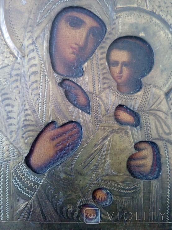 Икона Иверская, фото №8