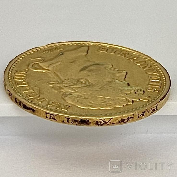 20 франков. 1809. Вестфалия. Германия (золото 900, вес 6,38 г), фото №7