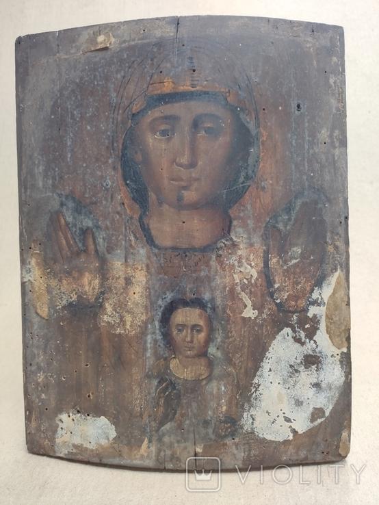 Знамение Пр.Богородицы.21х27см. Красивая живопись., фото №4
