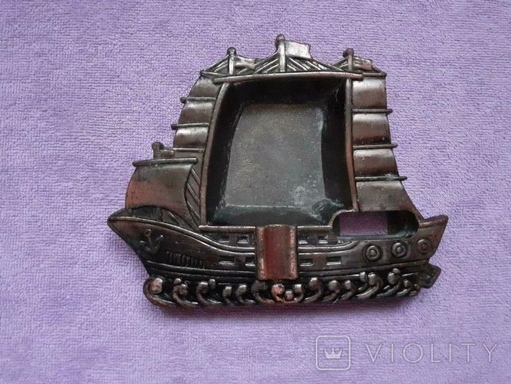 Пепельница кораблик, фото №2