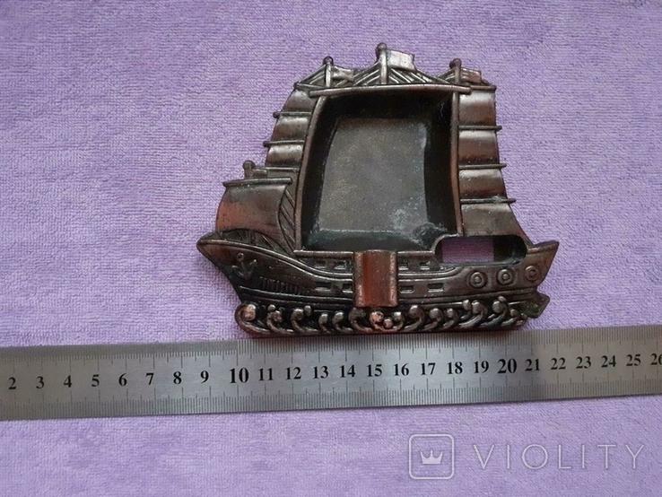Пепельница кораблик, фото №4