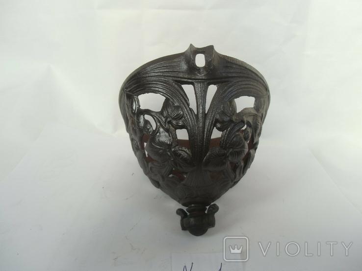 Корзинка под керосиновую колбу до потолочных керосиновых ламп, фото №7