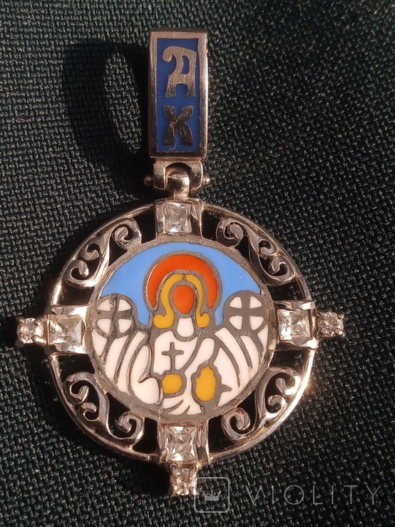 Підвіска Ангел Хранитель срібло 925, фото №2