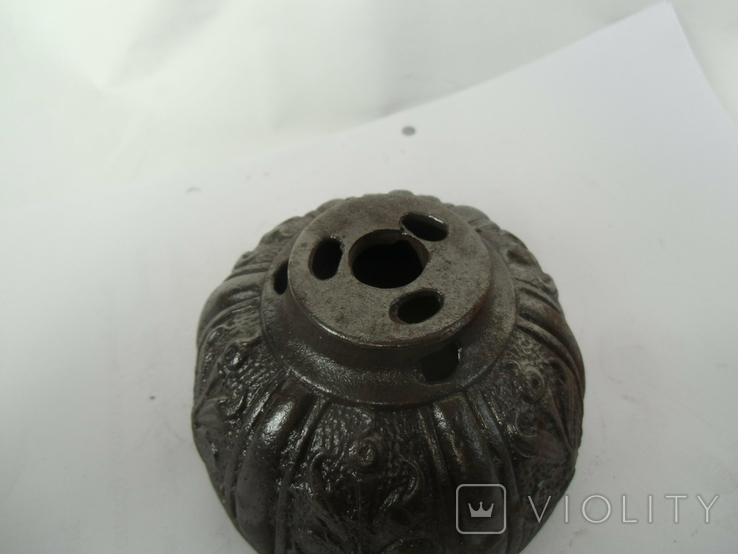 Верхняя часть противовеса от потолочной лампы., фото №6