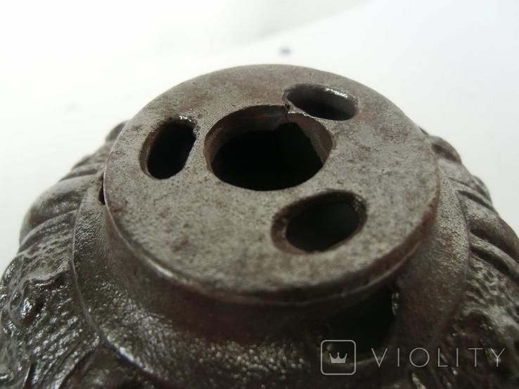 Верхняя часть противовеса от потолочной лампы., фото №7