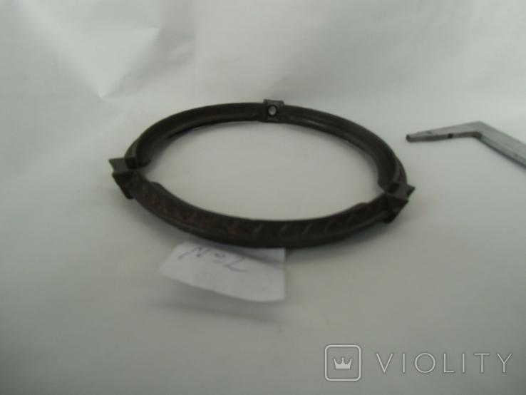 Кольцо под майолику до потолочных керосиновых ламп№2, фото №4
