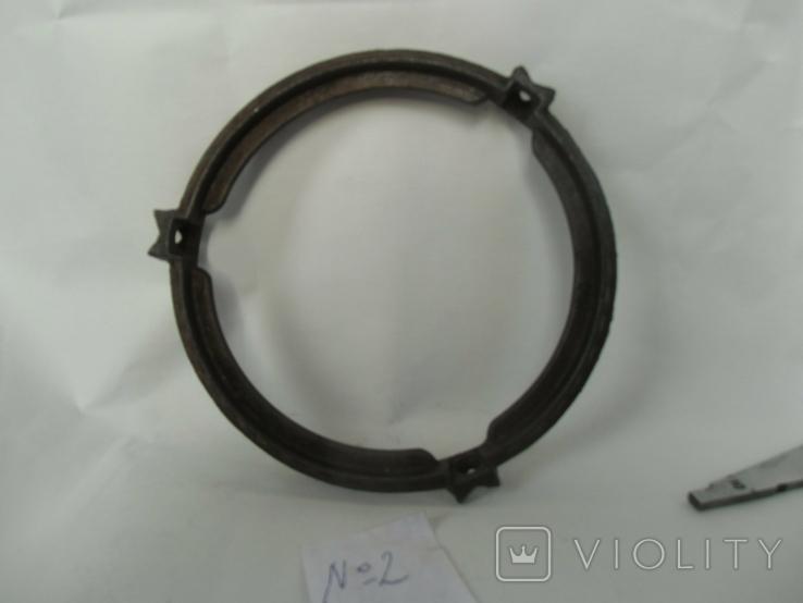 Кольцо под майолику до потолочных керосиновых ламп№2, фото №8