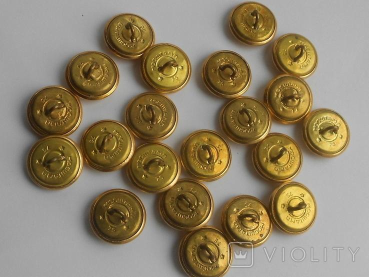 Пуговицы № 2 Гинерала в золоте, фото №8